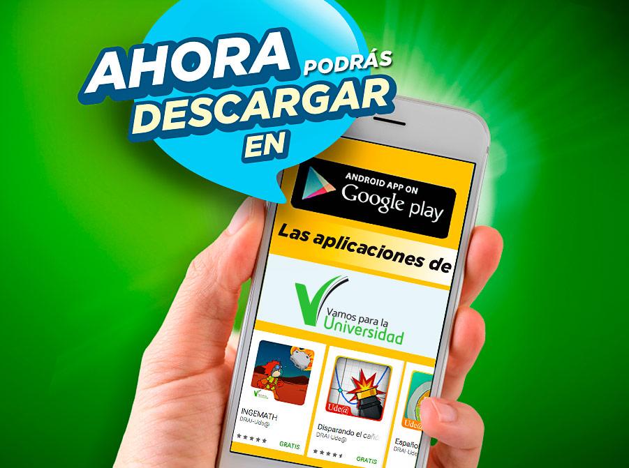 Descarga nuestras app